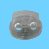 decorative cord stopper Plastic Cord Stopper For Cloth And Garment