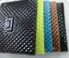 dimond pattern leather case for ipad2