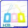 eco-friendly silicone luggage tag