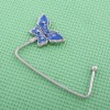 fashion bag hanger with butterfly charm