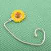 fashion bag hanger with sunflower charm
