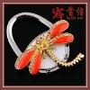fashion dragonfly shape  foldable bag hanger SX-2001