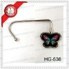 fashion handbag hanger/silver hanger/metal hanger/bag hanger hook