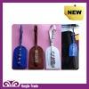 fashion luxurious DIY letter luggage tag