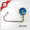 fashion metal bag hook