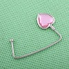 fashion pink love bag hanger