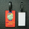fashion sample luggage tag with great quality