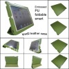 foldable &smart cover leather case for ipad2