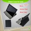 for iPad Carbon fiber Case