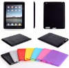 for iPad2 Smooth silicone cover case
