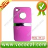 for iPhone 4 Color Back Cover,Plastic Case