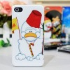 for iphone 4G hard plastic case (Happy Christmas)