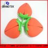 fruit model gift for silicone key bag (strawberry)