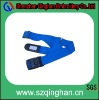 full function luggage belt with id card holder