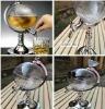 globe wine holder