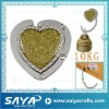heart shape gift bag holder