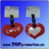 heart shape pvc luggage tag BXLP1010