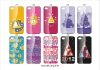 high quality fation Chirstmas hard PC plastic hard back case shell for iphone 4