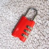 honorable red TSA combination lock