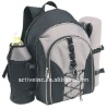 insulated 4 persons picnic backpack with carpet