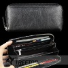 ladies leather purse,money holder with zipper closure