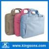 lady laptop handbag