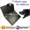 leather case tablet pc keyboard for mid/epad