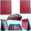 leather cover for apple ipad2 (many color in stock)