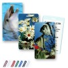 lenticular 3D travel tag