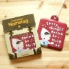 lovely  luggage tag