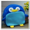 lovely penguins school bag backpacks cute Kids book bag