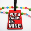 luggage tag rubber product