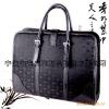 mens business leather handbag