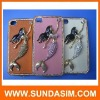 mermaid diamond case for iphone 4