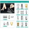 metal fittings for handbag and leather bag ZJ6673