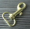 metal handbag snap hook in bronze color