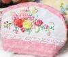 new beautiful pink DIY key wallet, handbag