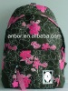 new floral school bag with wheels