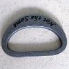 plain metal ring/metal D ring/bag ring