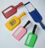 plastic luggage tag holder