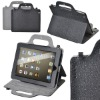 portable leather case For IPAD2 Briefcase