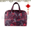 print fabirc compter bag/laptop bag