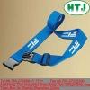 print logo elastic travel bag strap