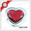 promotional metal heart bag hanger