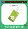 promotional plastic pvc uggage tag