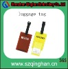 promotional printed logo luggage tag