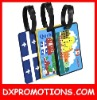 promotional pvc luggage tag