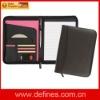 pu leather portfolio