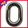 pure colour metal oval bag buckle