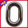 pure colour metal oval bag buckle